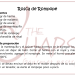 Rosca de rompope